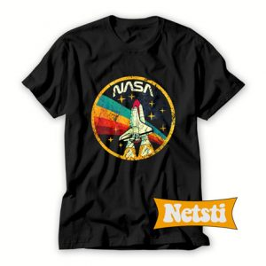 USA Space Agency Vintage Chic Fashion T Shirt
