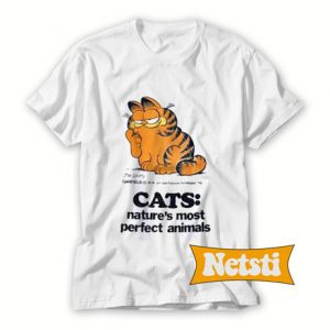Vintage 1980's Garfield Chic Fashion T Shirt