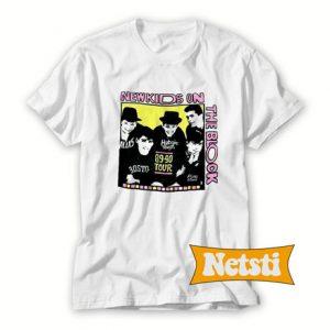 Vintage New Kids On The Block 89-90 Tour Chic Fashion T Shirt