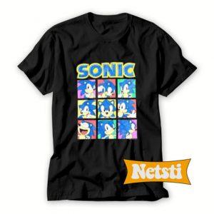 Vintage Sonic Chic Fashion T Shirt