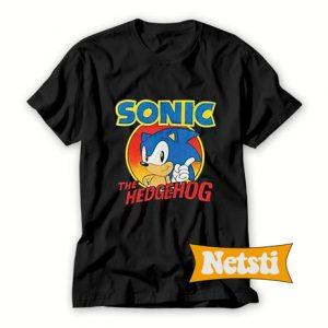 Vintage sonic the hedgehog Chic Fashion T Shirt