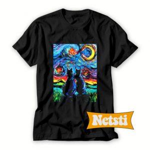 Van Gogh's Cats Chic Fashion T Shirt