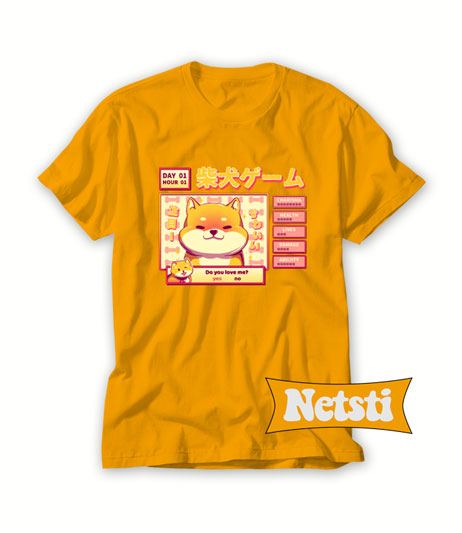 Shiba Novel Chic Fashion T Shirt