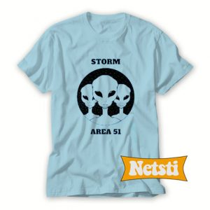 Strom Area 51 Chic Fashion T Shirt
