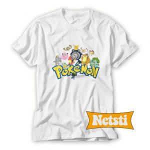 Vintage 2000 Pokemon Chic Fashion T Shirt
