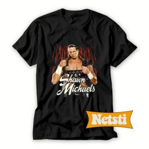 Vintage WWF Shawn Michaels Chic Fashion T Shirt