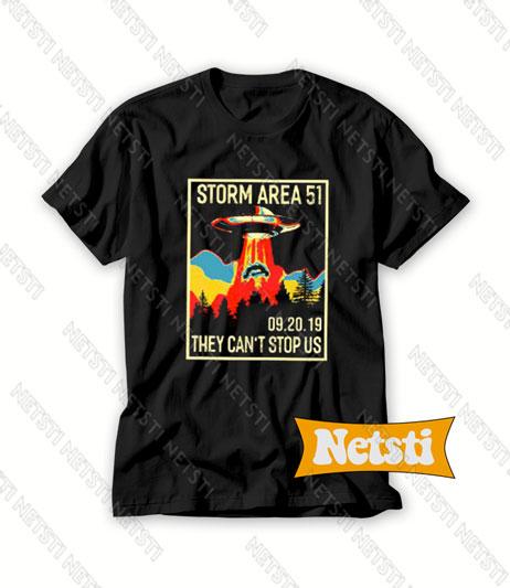 09 20 2019 Area 51 Storm Chic Fashion T Shirt