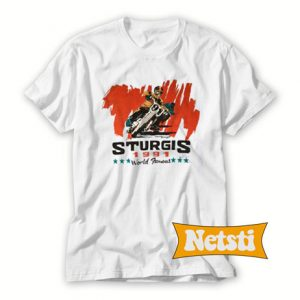 1991 Sturgis Chic Fashion T Shirt