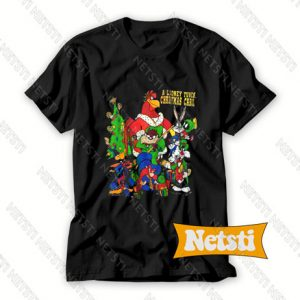 A Looney Tunes Christmas Carol Chic Fashion T Shirt