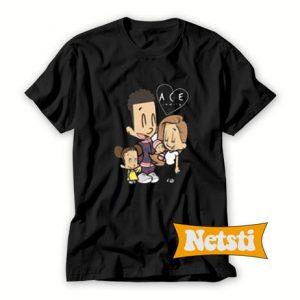 Ace Fam Cartoon Chic Fashion T Shirt