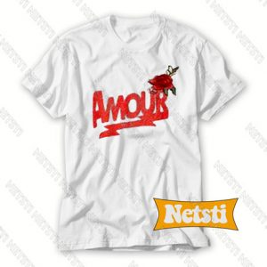 Amour Rose Chic Fashion T Shirt