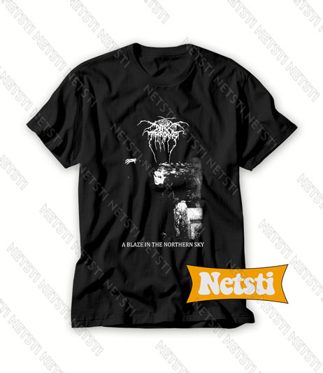 Darkthrone Band Chic Fashion T Shirt