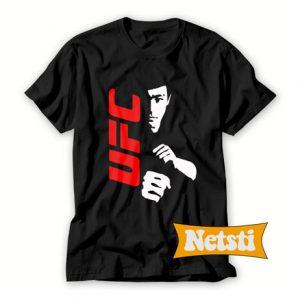 UFC Bruce Lee Chic Fashion T Shirt
