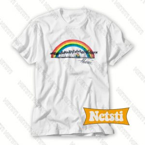 Vintage 1985 Hawaii Rainbow Chic Fashion T Shirt