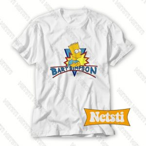 Vintage Bart Simpson Chic Fashion T Shirt