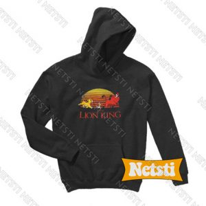 Walt Disney The Lion King Chic Fashion Hoodie