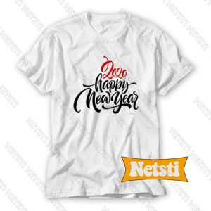 2020 Happy New Year Letter Chic Fashion T Shirt