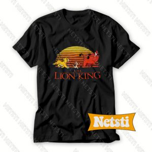 Walt Disney The Lion King Chic Fashion T Shirt