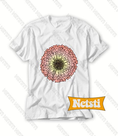 Zinnia Bears Flower Chic Fashion T Shirt