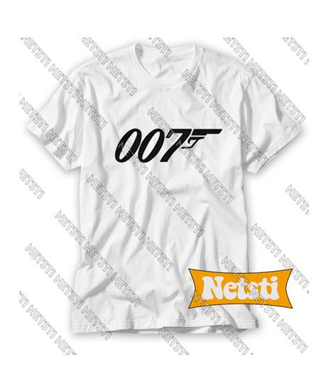 007 James Bond Chic Fashion T Shirt