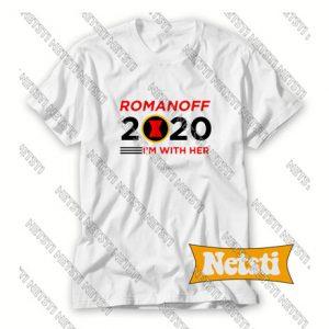 2020 Election Vote Black Widow Chic Fashion T Shirt