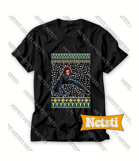 Black Widow Chic Fashion T Shirt