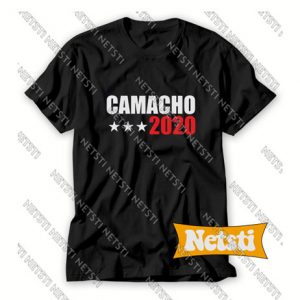 Camacho For President 2020 Idiocracy Chic Fashion T Shirt