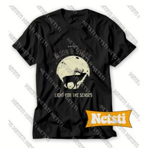 Deer Moon Chic Fashion T Shirt