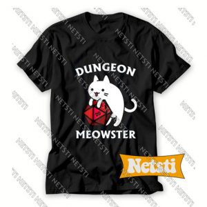 Dungeon Meowster Chic Fashion T Shirt