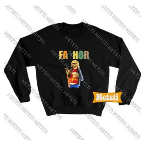 Fathor God Thunder Beer Chic Fashion Sweatshirt