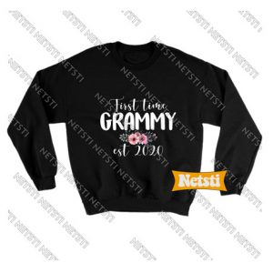 First Time Grammy Est 2020 Chic Fashion Sweatshirt