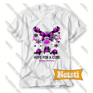 Hope For The Cure Epilepsy Awareness Chic Fashion T Shirt