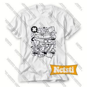 Lab Robot Monster Chic Fashion T Shirt