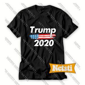 USA Flag President Donald Trump Chic Fashion T Shirt