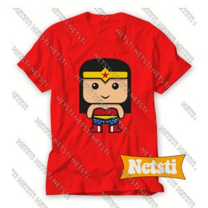 Wonder Woman Comic Illustration Chic Fashion T Shirt