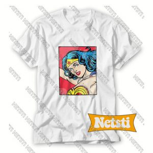 Wonder Women Comic Chic Fashion T Shirt