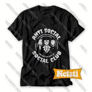 Anti Sosial Sosial Club Chic Fashion T Shirt