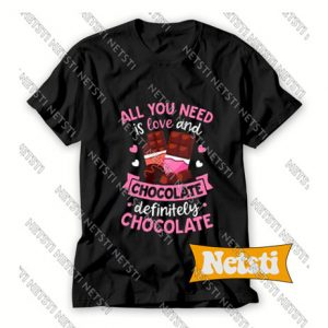 Chocolate Funny Valentines Day Chic Fashion T Shirt