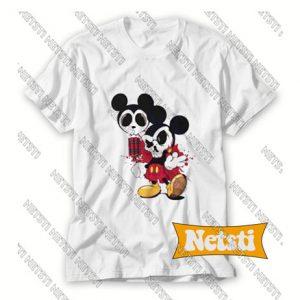 Mickey Mouse Bom Cartoon Chic Fashion T Shirt