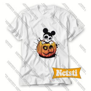 Mickey Mouse Halloween Chic Fashion T Shirt