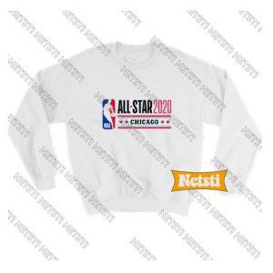 All Star weekend 2020 Chicago Chic Fashion Sweatshirt