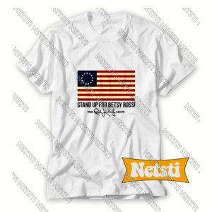 American Flag Chic Fashion T Shirt