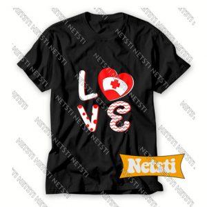 Medical Nurse Valentine Day Chic Fashion T Shirt