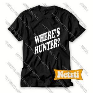 Where's Hunter Trump Minneapolis President Chic Fashion T Shirt