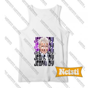 Alex trebek jeopardy Chic Fashion Tank Top