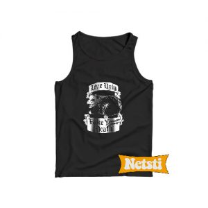Live Ugly Fake Your Death Tank Top